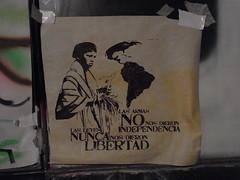 Bogota CreAcción °* (Sterneck) Tags: streetart art bogota arte politics social política callejero creación creacción