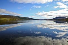 (Sunna Gautadóttir) Tags: autumn lake reflection fall nature water beautiful canon landscape eos mirror iceland 5d 24105 sunna 2011 skorradalur borgarfjörður reflectioninwater skorradalsvatn lakeskorradalsvatn sunnaphotography sunbeam93 sunnagautadóttir
