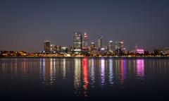 Perth at Dusk (jp3g) Tags: reflection night lights panasonic perth g3