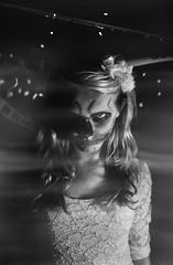 Wanna play? (Paulina Pikulinski) Tags: portrait halloween fashion fog lady way skeleton this born do cross lace ghost makeup police creepy tape caution gaga