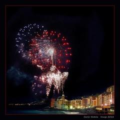 Camogli 2012 New Year fireworks - 6 (cienne45) Tags: italy riviera fireworks liguria cienne45 carlonatale newyear genoa natale camogli turismo borgo capodanno 2012 rivieradilevante fuochi fuochiartificio borgoligure newyear2012 capodanno2012 camoglifireworks