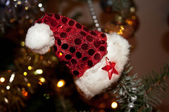 Santa's Little Hat (JeevesWilliams) Tags: santa christmas new party people france hat portraits year parties portraiture 2012 castelsarrasin midipyrnes