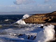 Tempesta sul mare di Balai (anton) Tags: sardegna mare rocce vento balai onde tempesta scogli maestrale schiuma portotorres mareggiata anton