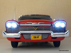 Plymouth Fury 1958 (Film Christine / John Carpenter) - ERTL (-Yannewvision-) Tags: old miniature frankreich plymouth christine belvedere spielzeug jouet johncarpenter miniatur ertl plymouthfury alten ミニチュア yannewvision プリマスフューリー ジョンカーペンター