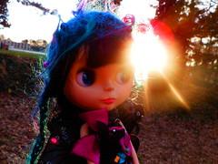 Alice has a twinkle in her eye...