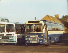 SEDDON PENNINE 7 MSJ380P OCT 1988 (rob newboldmeister general) Tags: photos coaches vanguard my