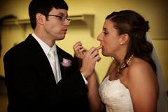Keeping it un-messy... (Mindubonline) Tags: wedding church cake groom bride tn nashville tennessee ceremony marriage reception bouquet nuptials mindub mindubonline timhiber