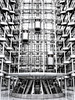 Space HQ (Crazy Ivory) Tags: light bw white black berlin monochrome beautiful lines architecture canon germany amazing interesting industrial bright wideangle highkey unusual ludwig colorkey ludwigerhardhaus llens erhard canonef24105mmf4lisusm canon24105mm 40d canoneos40d canon40d gettygermanyq4