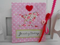 007 (picocrafts) Tags: pink red hearts needles