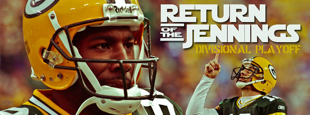 GIANTS VS PACKERS: RETURN OF THE JENNINGS Facebook banner