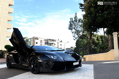 The Dark Knight Rises (Raphal Belly) Tags: door black paris car de french photography eos hotel riviera doors photographie open 4 negro casino montecarlo monaco belly exotic lp 7d passion 700 raphael lamborghini nero rb fairmont spotting supercars aperta opened noire raphal principality ouverte 7004 worldcars aventador lp7004