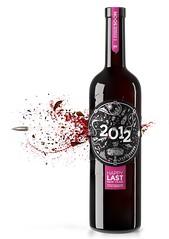 NEW YEAR WINE 2012 (Nastya Chamkina) Tags: new cinema 3d cg shot wine render label year apocalypse maxwell bullet 4d