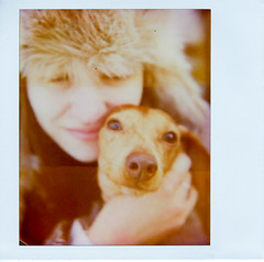 Lauren & Strudel Close-Up (mat4226) Tags: portrait dog cute lauren film closeup handwriting puppy polaroid couple university december close image pair adorable dachshund instant polaroidspectra pup spectra uf strudel impossible doxie bagley inseparable instantgratification filmphotography universityoffindlay fpp instantfilm softtone uoff spectrase theimpossibleproject filmphotographypodcast laurenbagley believeinfilm dachzy strudelthedachshund