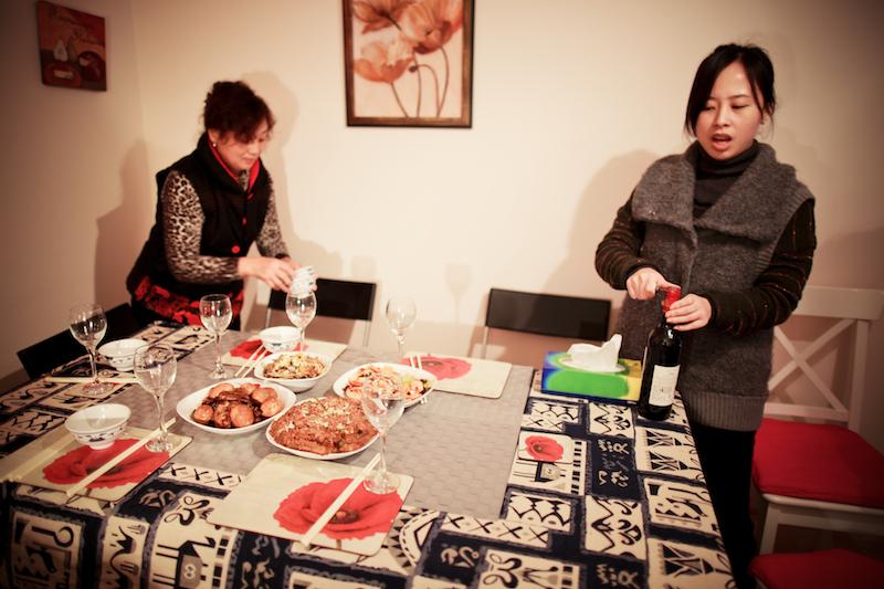 Chen Jie home dinner 006