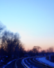 on a blurred path (^ Missi ^) Tags: light ontario landscapes dusk mississauga railwaytracks canon24105mmf4l canon5dmkii missi1005
