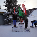 Nakiska Miele Cup Jan 14th, 2012 - Top 3 J1 women