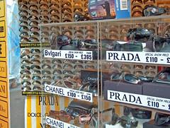 sunglasses prada chanel boatshow bvgari flicktone