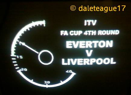 ITV - VT Clock - FA Cup: Everton vs. Liverpool