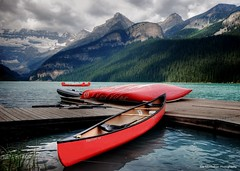 lake louise,banff national park (Rex Montalban) Tags: canada alberta lakelouise hdr banffnationalpark canadianrockies rexmontalbanphotography