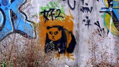 stencil | panda | shanghai . moganshan road (urbanpresents.net) Tags: china road street urban streetart art graffiti stencil panda shanghai 上海 2012 中國 moganshan 塗鴉 kersavond