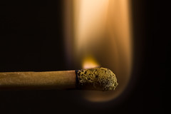 Playing with fire (Part 2) 4/52 (Skley) Tags: photography photo foto fotografie creative picture commons cc creativecommons bild licence 2012 kreativ lizenz skley week4theme 522012 52weeksthe2012edition weekofjanuary22 streichholzmatchfeuerfireflameflamme453closeupdetailsweek4 dennisskley