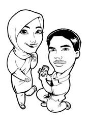 Kak Imah Bangi (mycartoonnizz) Tags: