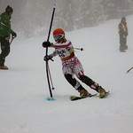 Teck Enquist Slalom, January 2012, Mt. Seymour - Shelby Slay (WMSC) PHOTO CREDIT: Steve Fleckenstein