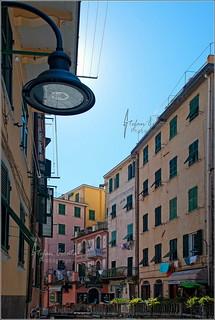 Light from the sky | Riomaggiore Italy