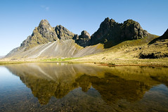 Lucky Day (Danil) Tags: mountain reflection landscape iceland nikon farm daniel d300 ringroad bosma