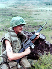 WAR! (eks4003) Tags: me usmc war eric vietnam 1970 ricepaddies boonies doc patrol grunt m16 nam edwinstarr recon oohrah boonierat toepoppers