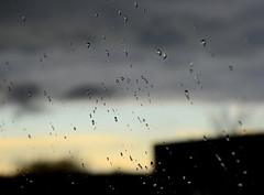 Here Comes The Rain (hpaich) Tags: sky cloud storm window rain weather grey skies nuvola cloudy bokeh overcast drop front cielo droplet nuvem nube raindrop wolk pilv