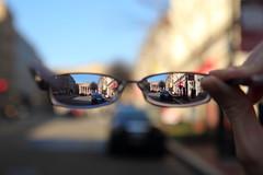 National Portrait Gallery Through Glasses (Mr.TinDC) Tags: museum glasses washingtondc smithsonian dc explore dcist eyeglasses museums pediment nationalportraitgallery 8thstreet transitions pennquarter smithsonianinstitution explored transitionslenses prescriptionglasses