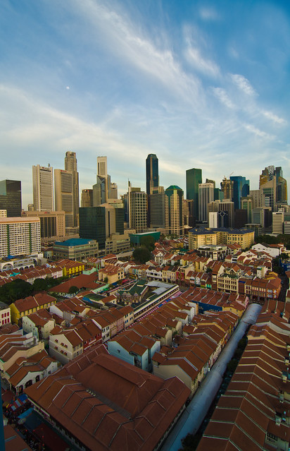 Chinatown view