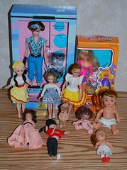 Estate Sale: Jan 28 (toomanypictures1) Tags: vintage barbie plastic clone mattel repro superteenskipper