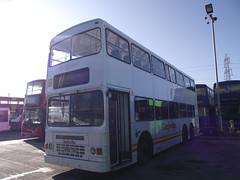 M682TDB 27-01-2012 Ensign.1 (routemaster2217) Tags: bus transport doubledecker duplemetsec ensignbus dennisdragon depotvisit stepentrancebus triaxlebus exkenya