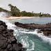 Praia das Conchas. Sao Tomé.
