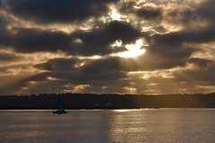 Rays on San Diego Bay [Explored] (The Spirit of the World) Tags: ocean california sunset sky sun nature water clouds bay sandiego pacificocean rays soe sandiegobay wow1 panoramafotogrfico ringexcellence dblringexcellence rememberthatmomentlevel1