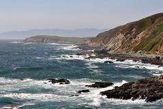 DSC_5871 (stephenkirsch) Tags: ocean california ca water rock bay coast nikon rocks waves formation coastal bodega f28 vr 70200mm d90