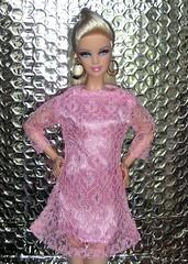 ADAW 5/52 Target Barbie Basics (more*dolls*dolls*dolls) Tags: pink vintage maddie mod dress barbie blonde target basics