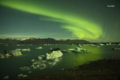 northern light,jakulsarlon iceland (silent witnesses) Tags: green ice iceland aurora northernlights berrie glaciallagoon leijten travelmoments jakulsarlon