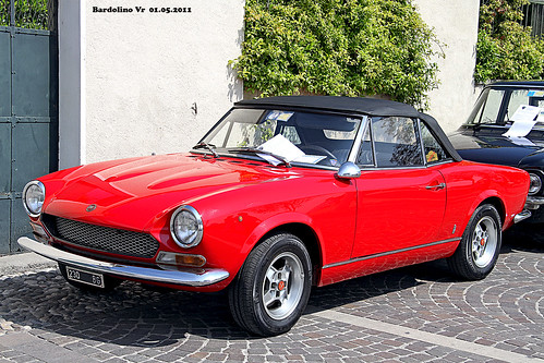 fiat 124 spider year 1970 - a photo on flickriver