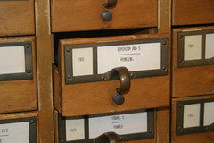 library card catalog drawers (thebookishlife) Tags: library books card feminism catalog
