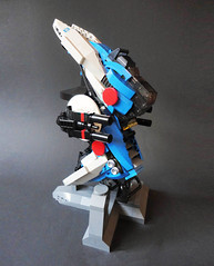 Honey I Shrunk the Sarigar... (nate_decastro) Tags: lego space replica scifi moc starfighter microscale