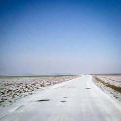 ...Sur la route, sous la neige... (pechinois) Tags: road snow france ice fog la under route verglas deux neige campagne blanc brouillard ville glace 79 niort sous tempete vende thouars sevres parthenay doix