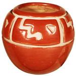 "<b>Jar</b><br/> Margaret Tafoya (1904-2001) ""Jar"" Redware, ca. 1960 LFAC #1995:08:06<a href=""http://farm8.static.flickr.com/7002/6852265133_ca0d6b14f7_o.jpg"" title=""High res"">∝</a>"