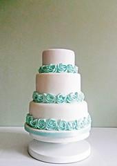 Wedding Cake (Bridgewater Bakery) Tags: wedding cake baker cheshire celebration bakery decorator bridgewater runcorn