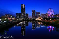 Bluehour YOKOHAMA 2 (kazu photo) Tags: snap yokohama bluehour bluemoment