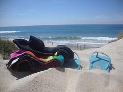 Beach in Esposende (paulafcmirandaa) Tags: sea sun sol praia beach mar areia playa toalha caliente dunas calor chinelos beautifulday esposende