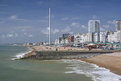 Brighton And Hove Seafront (grahambrown1965) Tags: sea water sussex seaside brighton pentax seafront groyne groynes i360 1650mm smcpentaxda1650mmf28edalifsdm brightoni360 k3ii ricohimagingcompanyltdpentaxk3ii britishairwaysi360 pentaaxk3ii