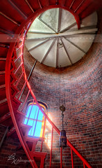 Race Point Light (betty wiley) Tags: red lighthouse architecture stairs provincetown capecod interior massachusetts newengland staircase iphone racepoint provincelands bettywileyphotography